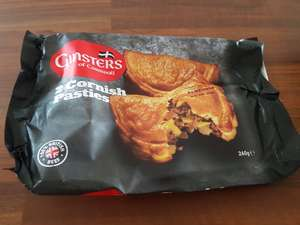 2 Ginsters Cornish pasties only 99p in lidl