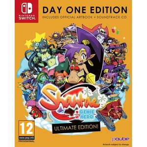 Shantae Half Genie Hero Ultimate Day One Edition Nintendo Switch Game £30.99 (Pre-order) - 365games