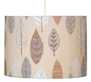 Arla leaf design light shade FURTHER reduced now £4.99 @ Argos