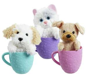 Animagic tea cup pets with sounds £4.99 @ Argos