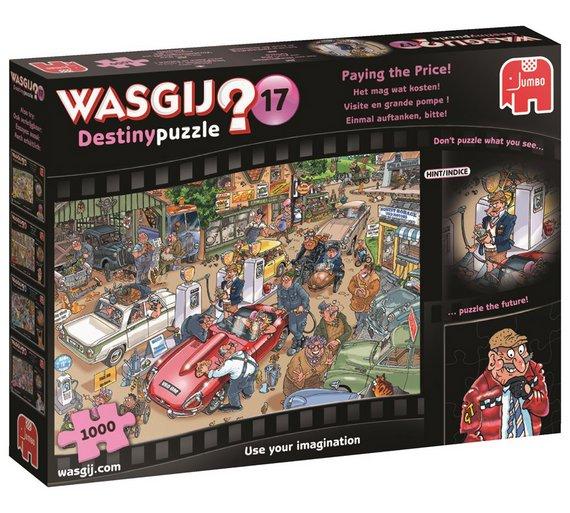 Wasgij destiny 17 paying the price \ wasgij mystery 13 purrfect escape jigsaw £5.99 @ Argos