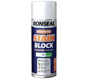 Ronseal quick dry stain block £5.99 was £11.89 @ Argos