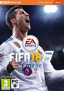 FIFA 18 (PC Origin download) £21.99 at Amazon