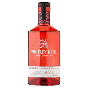 Whitley Neill Handcrafted Dry Gin Raspberry Gin 70cl £22 Amazon