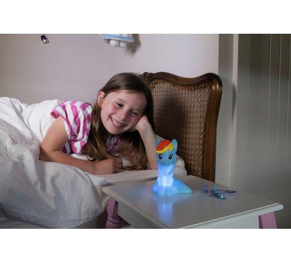 My Little Pony rainbow dash illumi mates colour night light £6.99 @ Argos