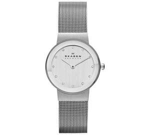 Update 5/3 - Skagen Ladies 358SSSD Freja Stainless Steel Mesh Strap Watch was £99.99 now £44.99 C+C @ Argos