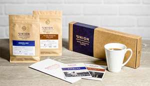 Free 2x 200g Hand Picked Coffee Union Roasted