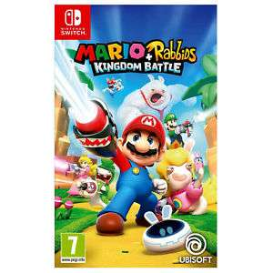 Mario & Rabbids Kingdom Battle [Switch] £31.00 @ Tesco eBay store