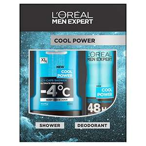 L'Oreal Men Expert Cool Power 2-Piece Gift Set - £2.51 @ Amazon (Add on item)