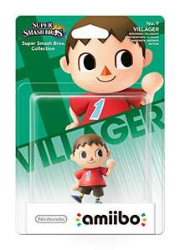 Villager No.9 Smash amiibo - £2.99 (Prime) £4.98 (Non Prime) - Amazon (BACK IN STOCK)
