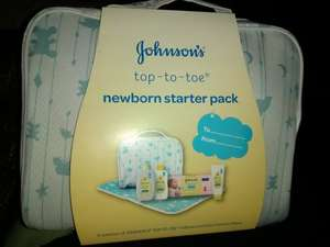 Johnsons Newborn starter pack. Asda (Boston) - £1.80