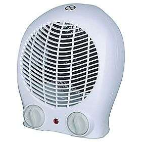 PORTABLE FAN HEATER 2000W only £9.99 (50% off) & in stock @ Screwfix