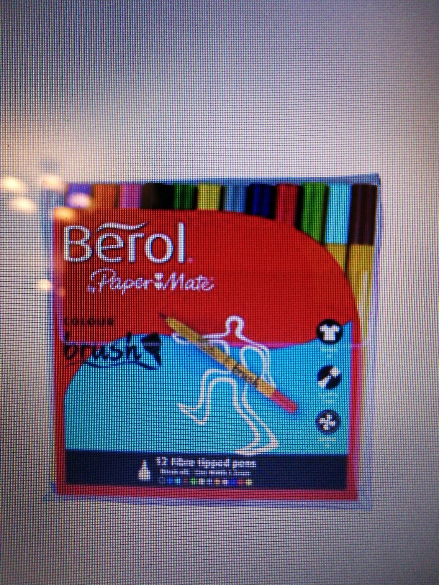 12 Berol Brush nib felt tip pens  - £1.94 @ Amazon (Add on Item)