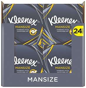 Kleenex Mansize 24 Pack 1056 Tissues @ Amazon - £12 Prime / £16.75 non-Prime