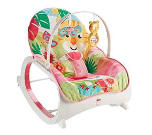 Fisher-Price Infant-to-Toddler Rocker, Pink by Fisher-Price - £30.14 @ Amazon