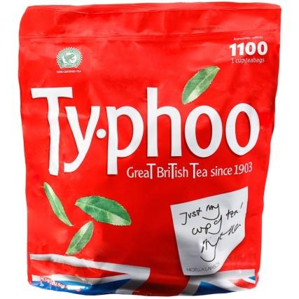 1100 Typhoo Tea Bags - £9.99 @ B&M