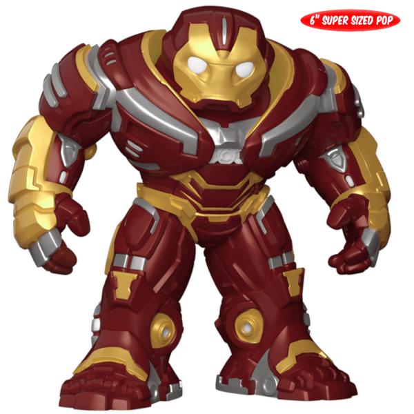 New 6 inch Marvel Infinity War Hulkbuster Funko - £9.89 @ Zavvi