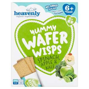 Morrisons - heavenly wafer wisps 6 pack £2.20 or 4 packs for £2.00