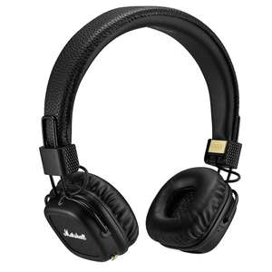 Marshall Major II On-Ear Bluetooth Wireless Headphones (Black/White/Brown) - £69.00 Delivered & possible £5 Argos voucher