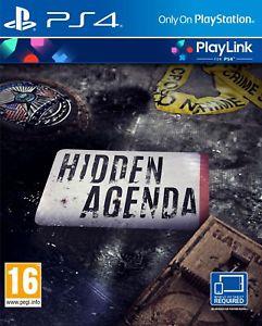 Hidden Agenda (PS4) £5.85 Delivered @ Shopto / Shopto eBay