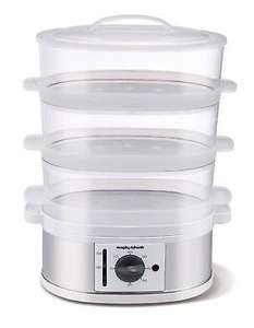 Morphy Richards 470001 Stainless Steel 3 Tiered Food Steamer £19.99 delivered @ Morphy Richards eBay