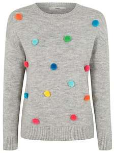 Pom Pom  jumper   M  & L  Available  nice - £6 at Asda (free c&c)