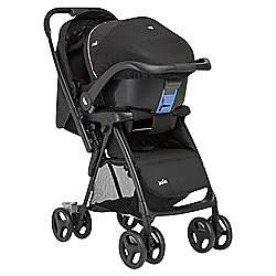 Joie Mirus Travel System, Black (Includes group 0 car seat) now £99 C+C in Baby Event @ Tesco Direct
