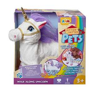 Pitter Patter Pets Walking Unicorn with Sound Effects half price £12.50 C+C @ The Entertainer (more Unicorns in OP)