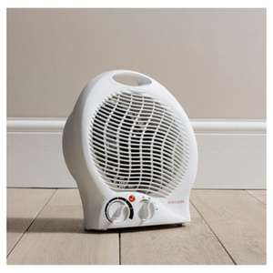 Fine Elements 2k electric fan heater £8 at Tesco Direct -   FREE Click+Collect
