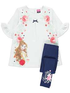 Belle Disney Princess,Dress & Leggings age 4-5 years £8 was £14 @ Asda george