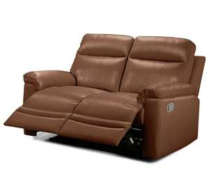 Collection New Paolo 2 Seater Manual Recliner Sofa – Tan  £319.94 Delivered at Argos