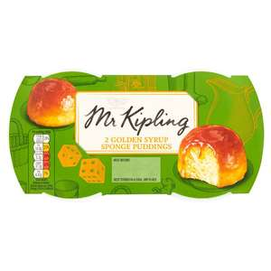 Mr Kipling Sponge Puddings Twin Pack - £1 @ Morrisons