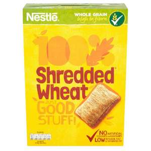 Nestle Shredded Wheat original 16 pack 79p in poundstretcher