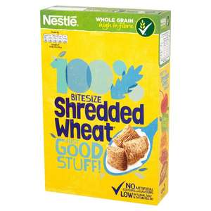 Nestle Shredded Wheat Bitesize 500g Reduced to £1.25 @ Ocado