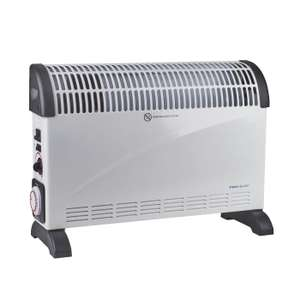 2kW Convector Heater with Turbo £28.74 delivered at  ElectricalDirect