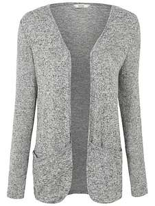 MORE stock* long line soft touch open front cardigan sizes 8,18,22 £4 @ Asdageorge