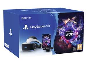 Psvr v2 + Camera + VR Worlds + selected game - £299.99 @ ShopTo