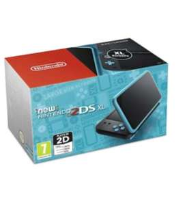 Nintendo 2DS XL Console Black and Turquoise (3DS / 2DS), £89.99(Used) / £98.99(New) delivered @ Grainger