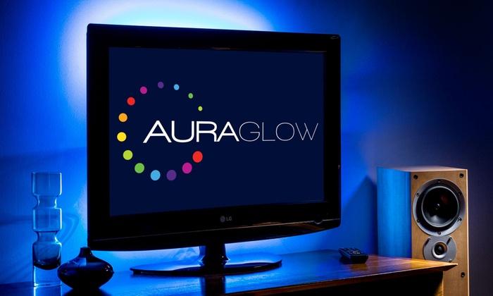 50cm Auraglow TV Backlight LED Strips £5.99 Delivered at Groupon