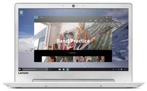 Lenovo IdeaPad 510S 14 Inch HD Intel i7 2.7GHz 8GB 256GB Windows Laptop - White @ Argos Ebay - £490.99