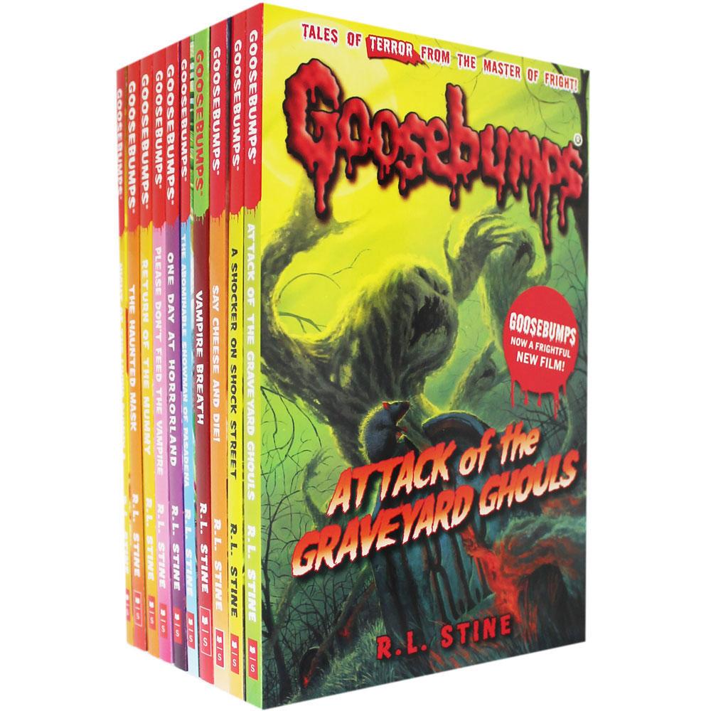 Goosebumps Shocker - 10 Book Set now £10 / Jacqueline Wilson Collection - 10 Book Box Set now £10 C+C @ The Works