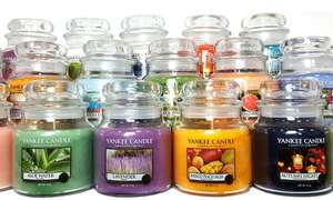 Yankee Candle Six-Pack of Assorted Medium Jars £41.97 Delivered at Groupon