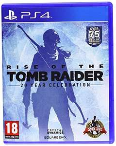 Rise of the Tomb Raider: 20 Year Celebration [PS4] £15.99 (Prime) £17.98 (non-Prime) at Amazon