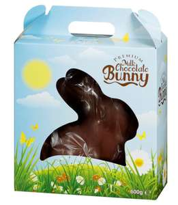 Giant Chocolate Easter Bunny 600g for £6.99 @ B&M instore