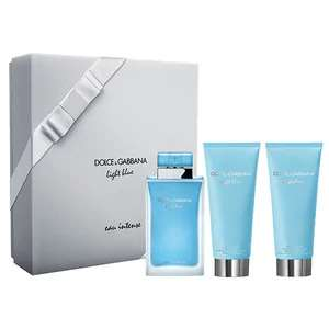 Dolce & Gabbana Light Blue Eau Intense Eau de Parfum Gift Set 100ml £50.99 @ The Perfume Shop - Code POLARTHURS 15% off