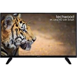 Techwood 49AO6USB 49 Inch Smart LED TV 4K Ultra HD £299 +10%offwith code @ AO eBay