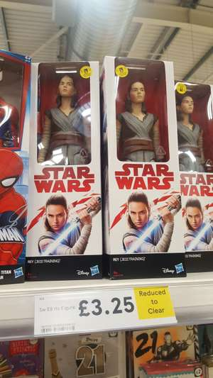 Rey (Jedi Training) Star Wars Figure - Tesco instore - £3.25