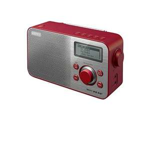 Sony XDRS60 DAB/DAB+/FM Compact Retro Style Digital Radio - Red