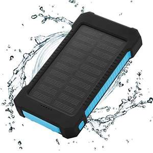 FLOUREON Solar Charger Power Bank 10000mAh Dual USB £8.97 sold by EKEUK @ Amazon (Prime)