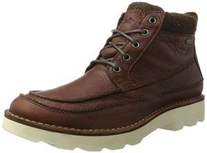 Clarks Men's Korik Rise GTX Ankle Boots SIZE 10 TAN, great reviews and price - £46 @ Amazon